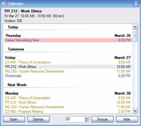Calendario de google en tu escritorio con GMinder - calendario-google-recordatorios