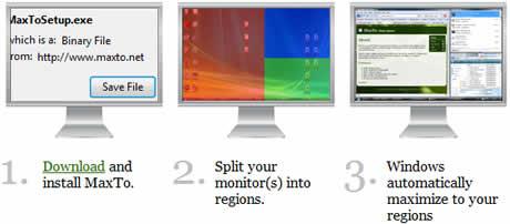 Distribuye tus programas en la pantalla con MaxTo - maximizar-programas