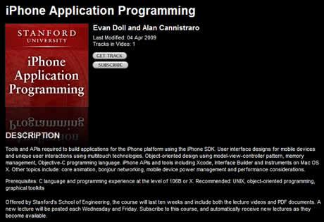 Programacion para iPhone, curso gratuito por la universidad de Stanford - programacion-iphone