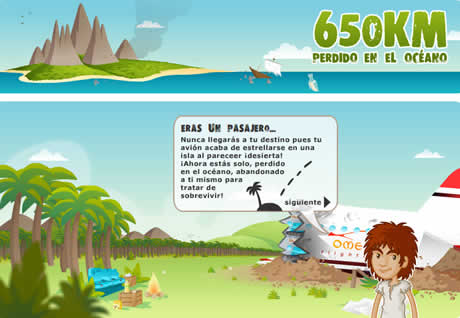 Juegos online, 650Km - juego-online-650km