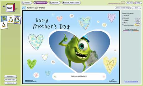 postales dia de la madre Tarjetas del dia de la madre creativas con SmileBox