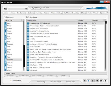 Radio en internet, escuchala con Nexus Radio - radio-en-linea
