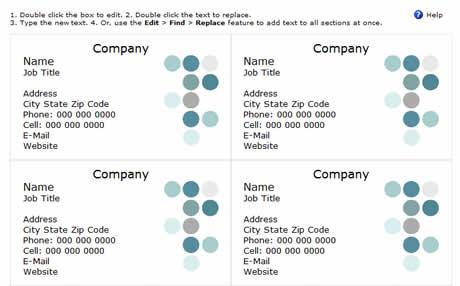Tarjetas de presentacion, crealas gratis en Google Docs - tarjetas-presentacion-gratis
