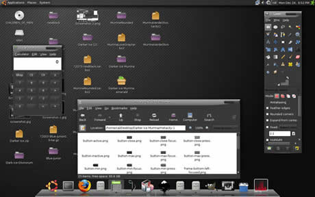 Temas ubuntu, 60 excelentes temas para Gnome - themes-ubuntu-darker-ice-murrina