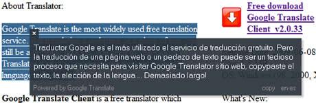 traductor google gratis Traductor de google gratis en tu escritorio