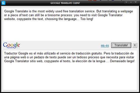traductor ingles gratis Traductor de google gratis en tu escritorio