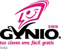 Claves SMS gratis con Gynio - claves-sms-gynio