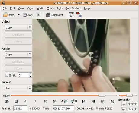 Editar videos con Avidemux - editar-videos