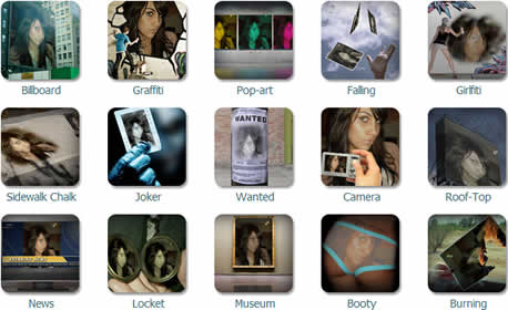 Fotomontajes en linea en EffMyPic - fotomontajes