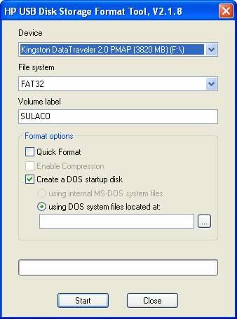 Recuperar usb con HP USB Disk Storage Format Tool - recuperar-usb