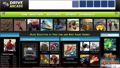 Juegos De Autos Online En DriveArcade - Imagen-De-DriveArcade
