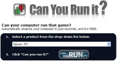 """Verifica La Configuración De Tu Equipo Con """"Can You Run it?"""" - Interfaz-can-you-run-it"""