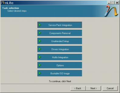 Realiza Copias De Windows XP Con nLite - Interfaz-nlite1