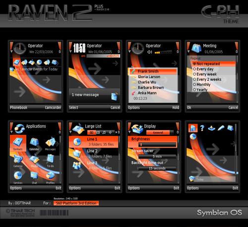 7 Bonitos temas para Nokia-Symbian - Nokia-Raven21