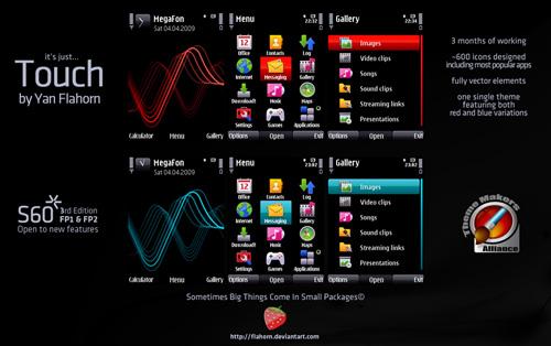 7 Bonitos temas para Nokia-Symbian - Nokia-Touch