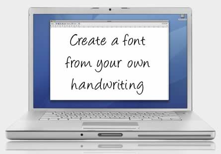hacer fuentes cursivas Crear fuentes manuscritas en FontCapture