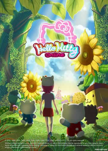 Hello Kitty, juego online MMORPG - hello-kitty-online