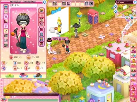 Hello Kitty, juego online MMORPG - hello-kitty