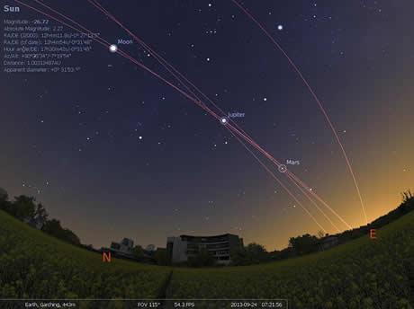 Observa las estrellas y planetas en tu computadora con Stellarium - planetario