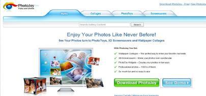 Crear wallpapers y screen savers con PhotoJoy - Photo-Joy