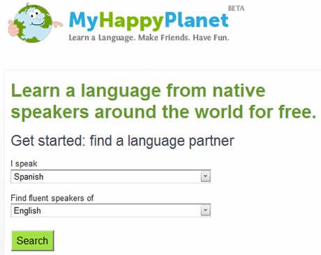 Aprender ingles y otros idiomas en My Happy Planet - aprender-ingles