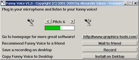 cambiar voz Cambiar voz con Funny Voice