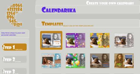calendarios mensuales Crear calendarios en wallpapers con Calendarika