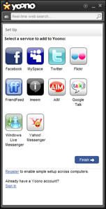 Entrar a facebook, twitter y otras redes con Yoono - entrar-facebook-yoono