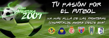 futbol mexicano liguilla 2009 Futbol mexicano, cuartos de final partidos de vuelta