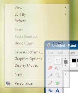 menus transparentes windows Menus transparentes en Windows