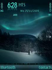 Temas para celulares sony y nokia en Eseth.net - temas-nokia-winter-aurora