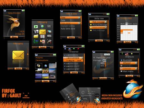 temas sony firefox Temas sony ericsson de Firefox