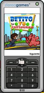 Juegos para celular, Betito vs la influenza - juegos-para-celular