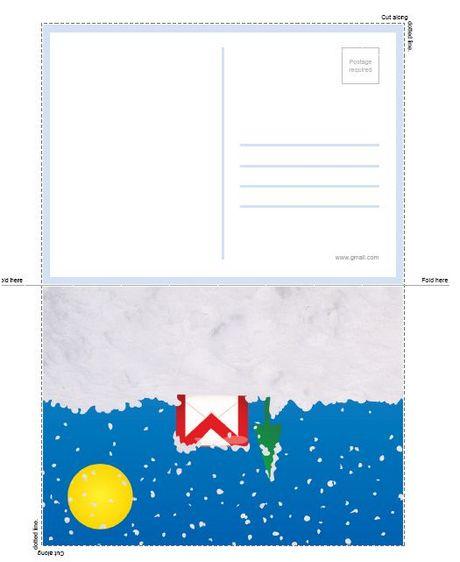 Tarjetas de navidad para imprimir de Google - tarjetas-navidad-imprimir