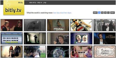 Videos mas vistos en Bitly.tv - videos-populares
