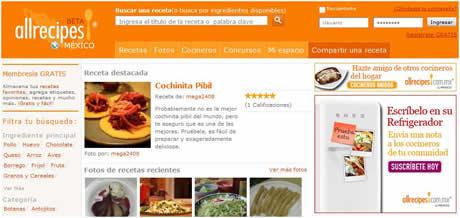 Recetas de cocina en AllRecipes México - recetas-cocina-allrecipes