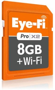 Tarjeta SD con WiFi incluye la Eye-Fi Pro X2 - tarjeta-sd-con-wifi-eye-fi-pro-x2
