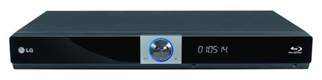 LG Blu-Ray BD370, un reproductor que se conecta a internet - Blu-Ray-BD370