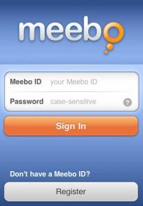 Disponible la aplicación oficial de Meebo para iPhone - meebo-208x300