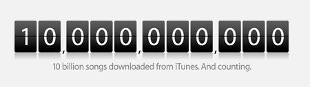 Se ha vendido la canción diez mil millones en la iTunes Store - tenbillion