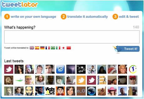 traducir twitter Traducir tweets con Tweetlator