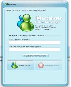 Captura de pantalla 2010 03 03 a las 00.56.45 247x300 Un MSN Messenger Portable mas ligero llamado iMessenger