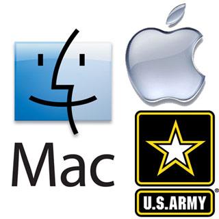 El ejército de los Estados Unidos visita a Apple - apple-mac-us-army-logo