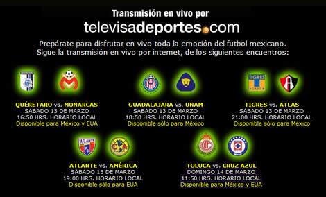 chivas pumas en vivo Chivas vs Pumas y más futbol en vivo por internet