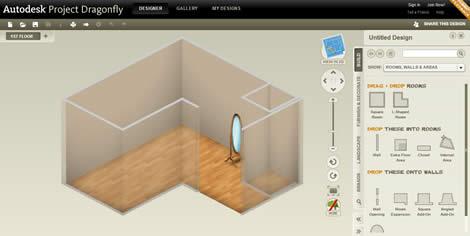 diseno interiores Diseño de interiores con Autodesk DragonFly