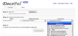 Docspal un conversor de archivos online - docspal-300x139