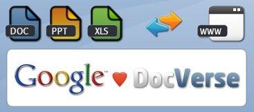 docverse Google compra DocVerse