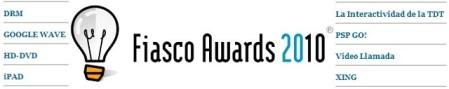 Ipad gana los Fiasco Awards 2010 - fiasco-awards-nominados