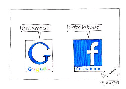 google facebook charla Google ya comienza a indexar páginas de Fans de Facebook
