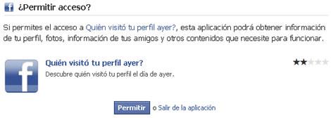 quien visito mi perfil facebook Saber quien visito tu perfil de facebook es imposible